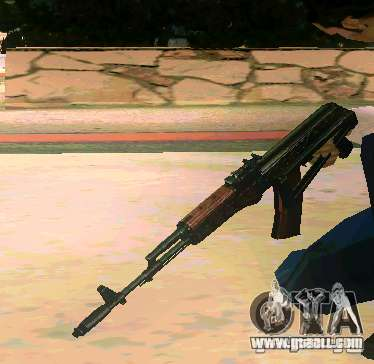 Weapon Pack v 5.0 for GTA San Andreas forth screenshot