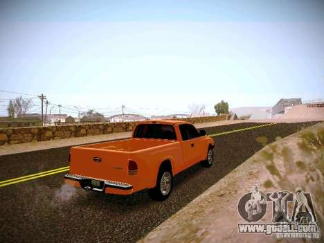 Dodge Ram 1500 Dacota for GTA San Andreas right view