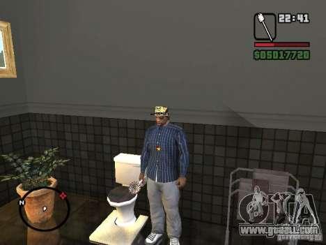 Toilet Brush for GTA San Andreas forth screenshot