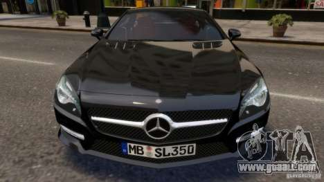 Mercedes-Benz SL 350 2013 v1.0 for GTA 4 inner view