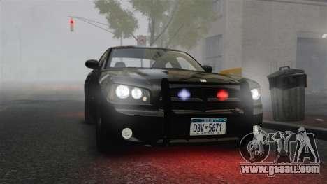 Dodge Charger RT Hemi FBI 2007 for GTA 4 inner view