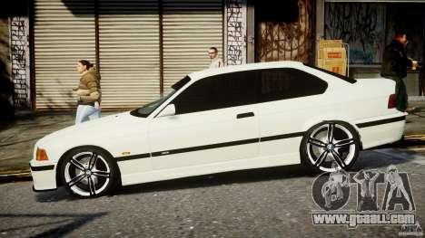 BMW e36 M3 for GTA 4 left view
