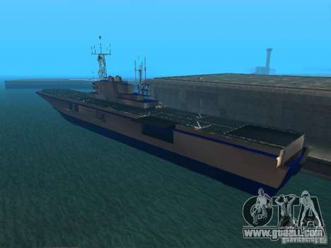 Aircraft Carrier for GTA San Andreas second screenshot