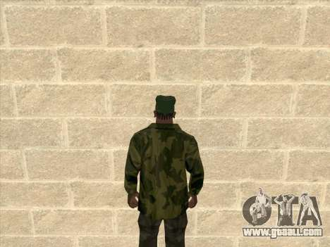 Camouflage jacket for GTA San Andreas second screenshot