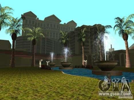 New textures for casino Caligula for GTA San Andreas