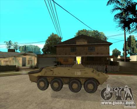 The APC from s. t. a. l. k. e. R for GTA San Andreas right view