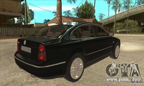 Volkswagen Passat B5+ for GTA San Andreas right view