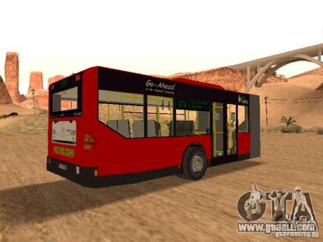 Trailer for the Mercedes-Benz Citaro G for GTA San Andreas right view