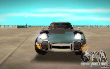 Toyota 2000GT 1969 for GTA San Andreas right view