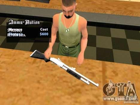 Sound pack for TeK pack for GTA San Andreas tenth screenshot