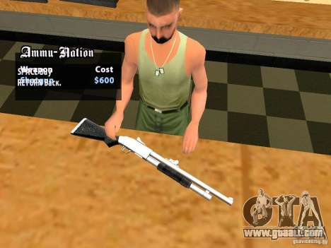 TeK Weapon Pack for GTA San Andreas tenth screenshot