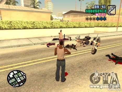 Vice City Hud for GTA San Andreas sixth screenshot