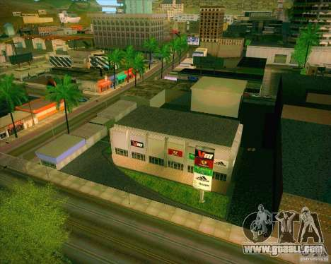 New textures All Saints General Hospital for GTA San Andreas second screenshot