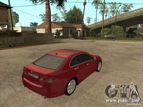 Honda Accord 2010 for GTA San Andreas right view