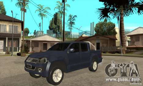 Volkswagen Amarok 2010 for GTA San Andreas