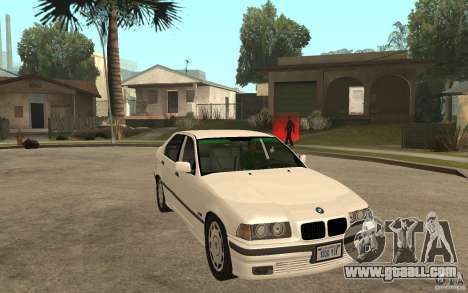 BMW 320i E36 for GTA San Andreas back view
