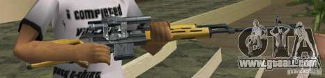 Max Payne 2 Weapons Pack v1 for GTA Vice City third screenshot