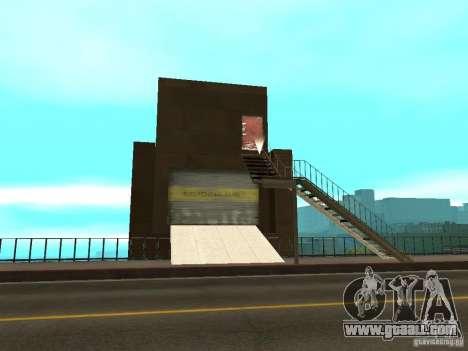 Red-Elevator lift Bridge bridge for GTA San Andreas