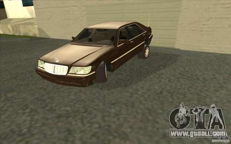 Mercedes-Benz S600 for GTA San Andreas side view
