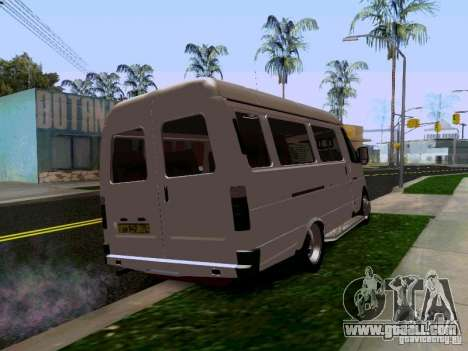 Gazelle 32213 1994 for GTA San Andreas back left view