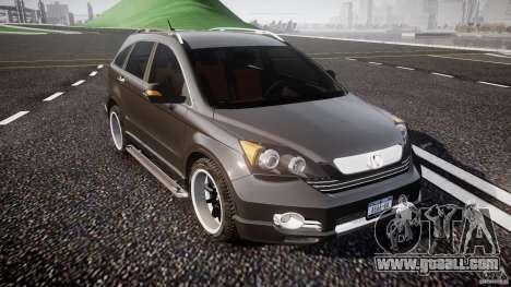 Honda C-RV SeX_BomB 2007 for GTA 4 inner view