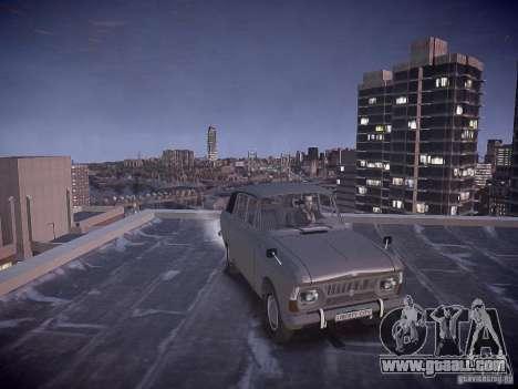 IZH 2125 Kombi for GTA 4 back view