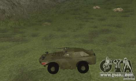 BRDM-1 Skin 4 for GTA San Andreas back left view