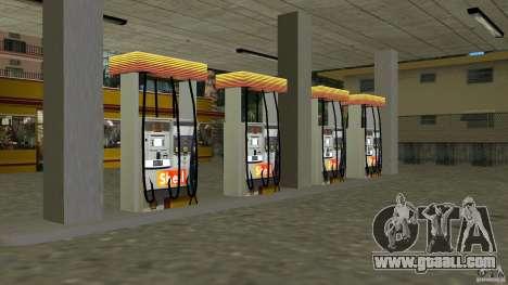 Shell Station for GTA Vice City third screenshot
