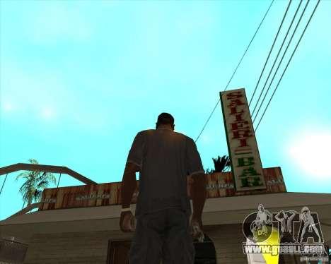 Salierys Bar for GTA San Andreas second screenshot