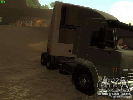 KAMAZ 6460 for GTA San Andreas left view