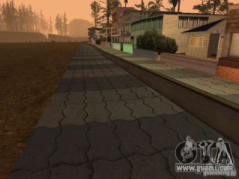 HD Santa Maria Beach for GTA San Andreas second screenshot