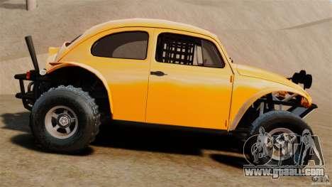 Volkswagen Fusca Buggy 1963 for GTA 4 left view
