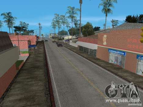 New Groove Street for GTA San Andreas third screenshot