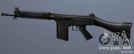 FN FAL for GTA San Andreas forth screenshot
