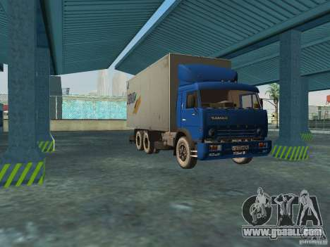 KAMAZ 5320 for GTA San Andreas left view