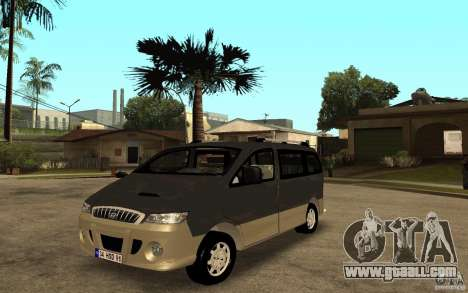 Hyundai Starex for GTA San Andreas