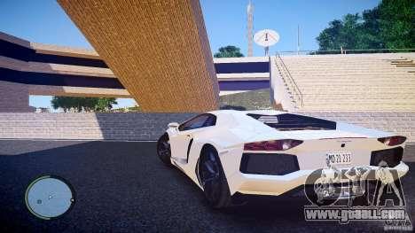 Lamborghini Aventador LP 700-4 for GTA 4 left view