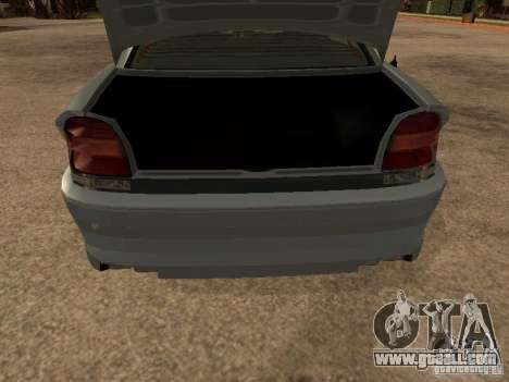 Schafter of Gta 4 for GTA San Andreas back left view