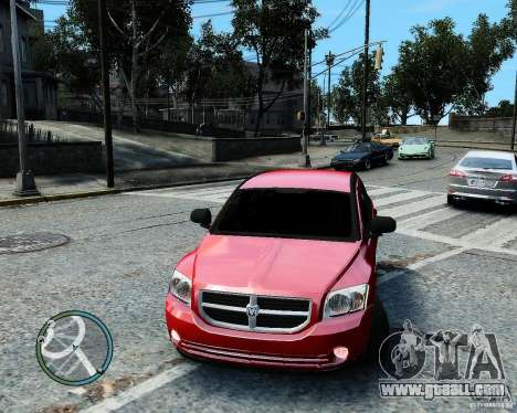 Dodge Caliber for GTA 4 engine