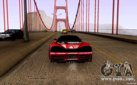 Honda NSX VielSide Cincity Edition for GTA San Andreas right view