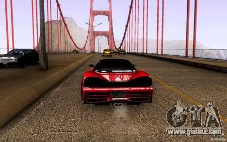 Honda NSX VielSide Cincity Edition for GTA San Andreas right view