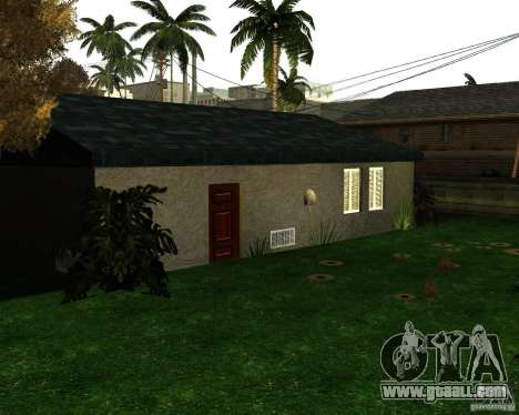 New Ryder House for GTA San Andreas second screenshot