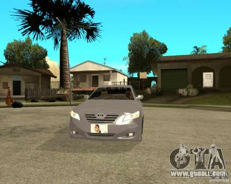 Toyota Camry XV40 2007 for GTA San Andreas back view