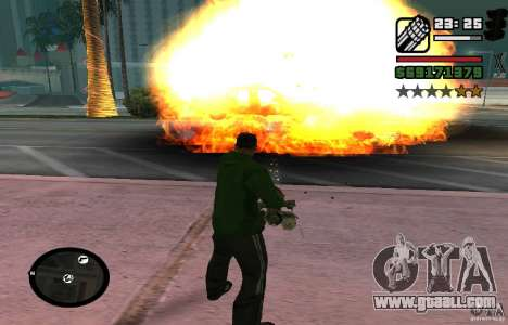 New Effects [HQ] for GTA San Andreas third screenshot