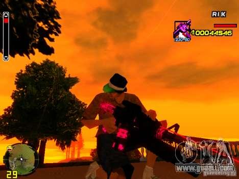 Hello Kitty weapon for GTA San Andreas forth screenshot