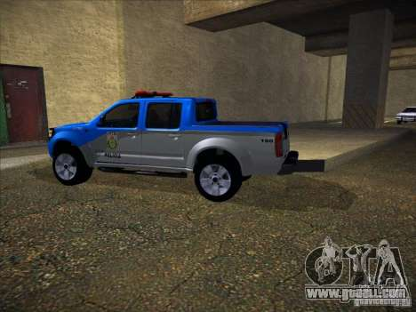 Nissan Frontier PMERJ for GTA San Andreas back view
