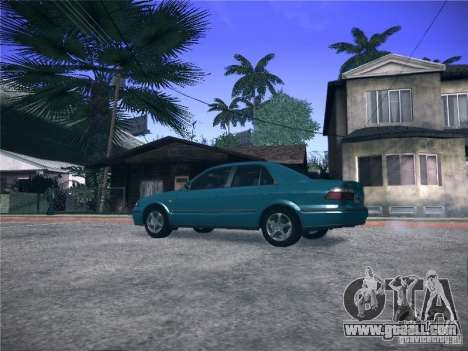 Mazda 626 GF 1999 for GTA San Andreas left view