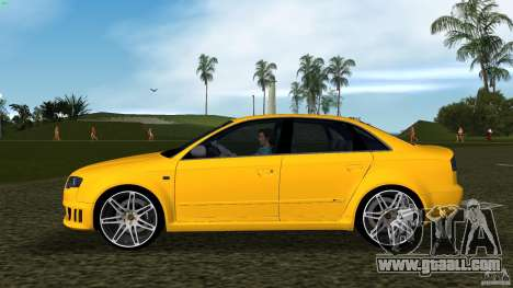 Audi RS4 for GTA Vice City left view