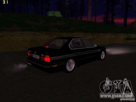 BMW E34 Alpina B10 Bi-Turbo for GTA San Andreas right view