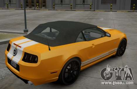 Ford Mustang GT Convertible 2013 for GTA 4 right view